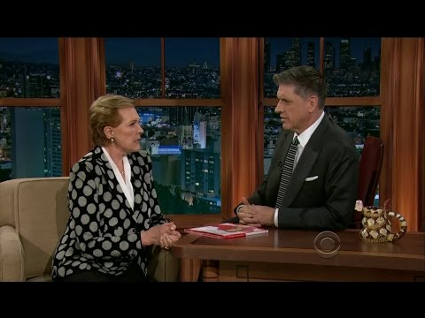Late Late Show with Craig Ferguson 2/11/2013 Julie Andrews, Grace Park