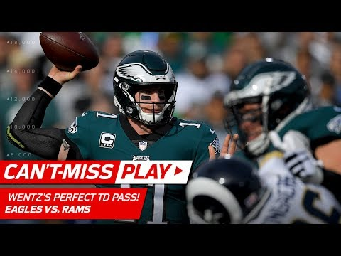 Video: Carson Wentz Drops TD Dime vs. LA! | Can't-Miss Play | NFL Wk 14 Highlights