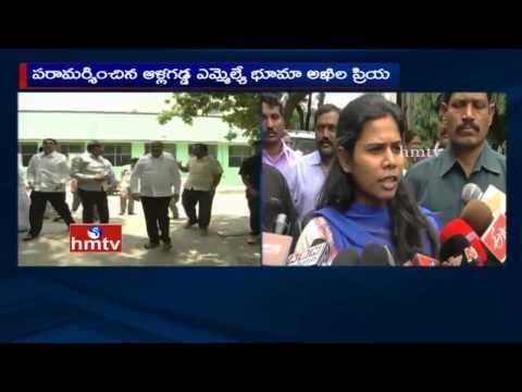 Bhuma Akhila Priya speaks to Media | Bhuma Nagi Reddy Health Condition and Arrest