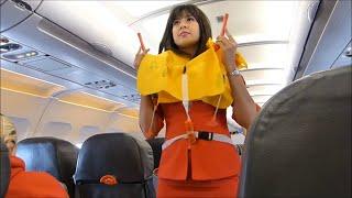 Video AirAsia Safety Demonstration by Cute Flight Attendant MP3, 3GP, MP4, WEBM, AVI, FLV Agustus 2018