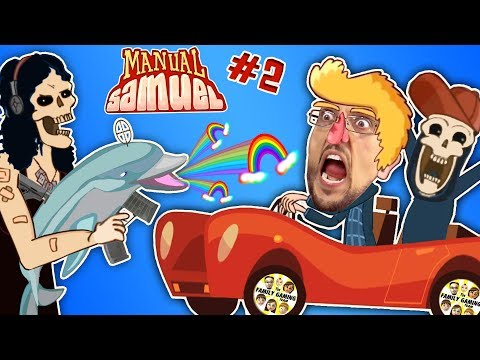 WALK LIKE SHAWN GAME Part 2! 🎵 Manual Samuel the Doofy Zombie Learning to Drive Musical FGTEEV Fun (видео)