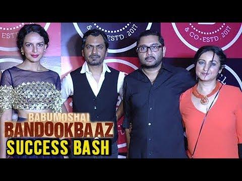 Babumoshai Bandookbaaz Success Party Full Video  