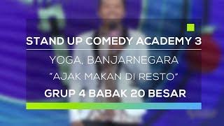 Video Stand Up Comedy Academy 3 : Yoga, Banjarnegara - Ajak Makan Di Resto MP3, 3GP, MP4, WEBM, AVI, FLV Februari 2018