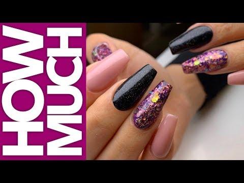 How Much - Fuchsia Dimensional Nails - Gel Nails