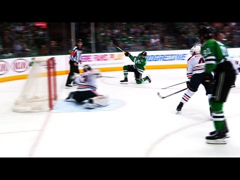 Video: Radulov and Seguin team up to beat Talbot on two-on-one rush