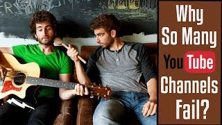 Why So Many Youtube Channels Fail by Brothers Green Eats