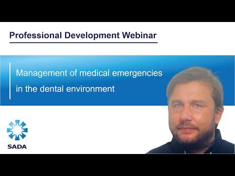 Management of medical emergencies in the dental environment – Dr Niel Barnard (WEB62)