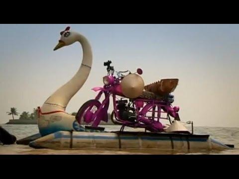 Vietnam Motorbike Special Part 2 - Amphibious bikes! - Top Gear - Series 12 - BBC