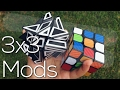 2 Awesome 3x3 Mods Unboxing   M-Series Ghost Cube + Carbon Fibre Stickered 3x3