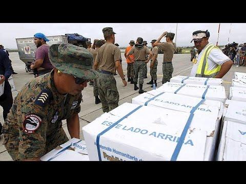 Η Βολιβία στο πλευρό του σεισμόπληκτου Ισημερινού