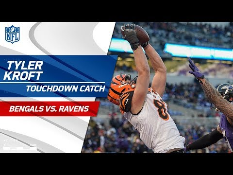 Video: Andy Dalton Hits Tyler Kroft for TD to Cap Off Opening Drive! | Bengals vs. Ravens | NFL Wk 17