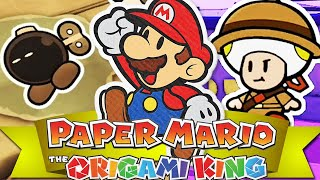 Paper Mario: The Origami King - Découverte du nouvel opus !