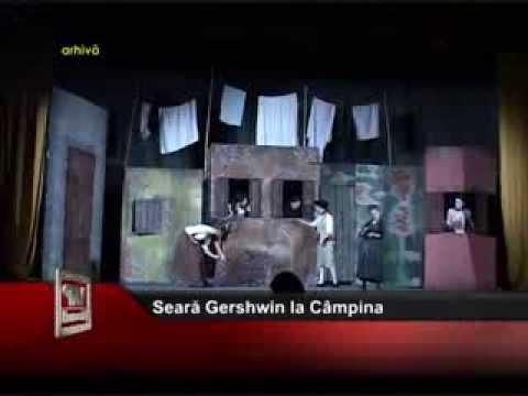 Seară Gershwin la Câmpina