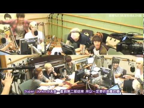 120720【全場中字】Kiss the Radio - 來賓 Super Junior