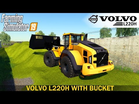 Volvo L220H with bucket v1.0.0.0