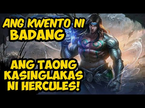 ANG KWENTO NI BADANG / STORY OF BADANG (MOBILE LEGENDS TAGALOG STORY)