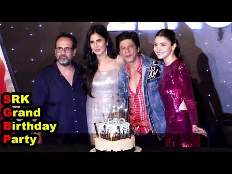 SRK Grand Birthday Celebration At Zero Official Trailer Launch