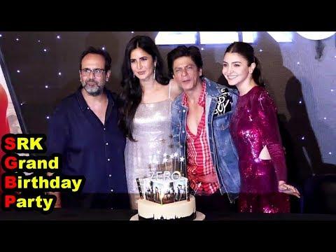 SRK Grand Birthday Celebration At Zero Official Trailer Launch