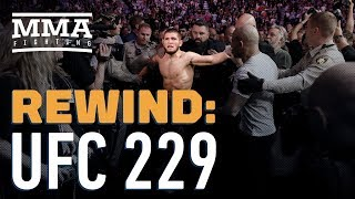 Video UFC 229 Rewind: Khabib Nurmagomedov Submits Conor McGregor MP3, 3GP, MP4, WEBM, AVI, FLV Desember 2018