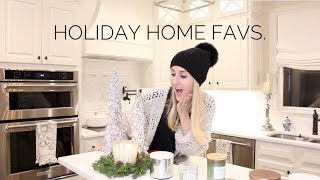 FAVORITE HOLIDAY HOME STUFF! CANDLES, HACKS, & TIPS