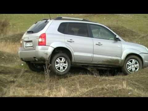hyundai tucson off road best video