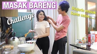 Video DIAJARIN MASAK SAMA CALON... (challenge masak 30rb buat berdua) MP3, 3GP, MP4, WEBM, AVI, FLV Januari 2019