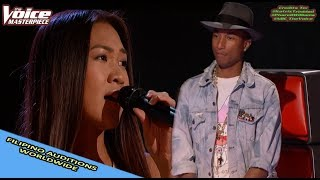 Video 'FILIPINO' SINGER AUDITIONS IN THE VOICE WORLDWIDE MP3, 3GP, MP4, WEBM, AVI, FLV Januari 2019