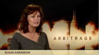 'Arbitrage' Susan Sarandon Interview