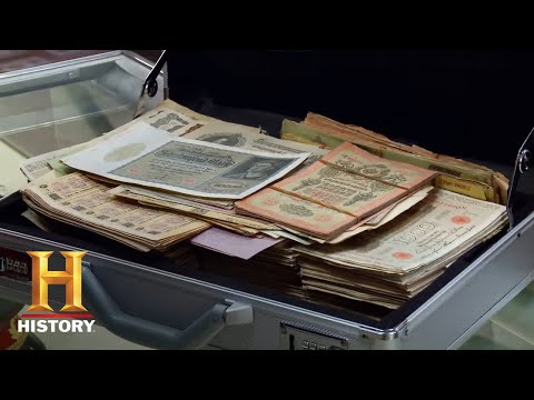 Pawn Stars: A SUITCASE FULL OF CASH ISN'T WORTH MUCH (Season 13)   History