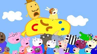 Video Peppa Pig Official Channel   Peppa Comes to Watch the Carnival with Suzy Sheep MP3, 3GP, MP4, WEBM, AVI, FLV Agustus 2019