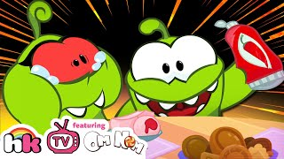 Video Om Nom Stories: THE PRANK WAR | Funny Cartoons for Children | HooplaKidz TV MP3, 3GP, MP4, WEBM, AVI, FLV September 2018