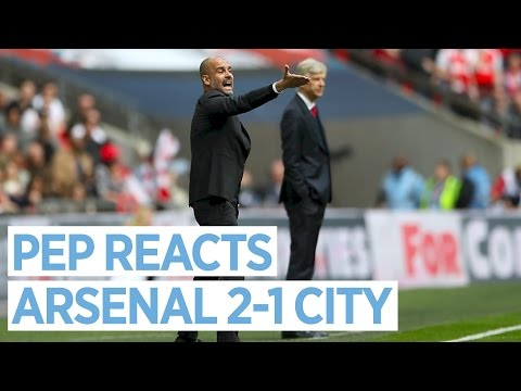 Video: Guardiola Press Conference | Arsenal 2-1 Man City
