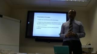 Presentation Skills - Poor Presentation Example - Boring Presenter