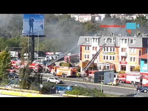 Požár na Černým Mostĕ