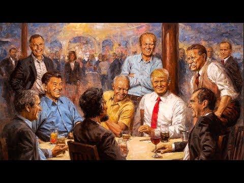 "Trump's Hilarious ""Republican Club"" Painting Is Pure Republican Fantasy"