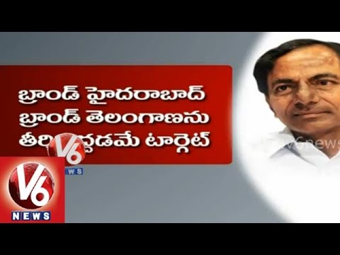 Telangana CM KCR visits Singapore to attract foreign companies