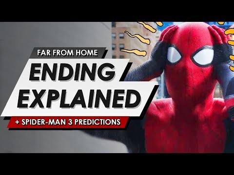 Spider-Man: Far From Home: Ending Explained Breakdown + Post Credits Review And Phase 4 Predictions