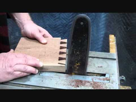 Dovetails Fast and Furious, Crazy Canadian Woodworking