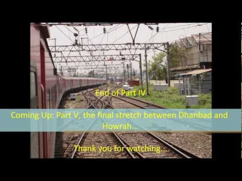 Howrah Rajdhani - Some high speed passage through Jharkhand courtesy a terrific show of speed from the Howrah Rajdhani Express! The Koderma-Dhanbad section cuts through the st...