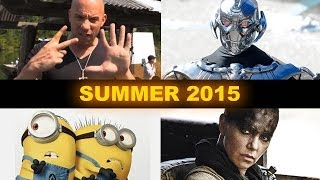 Summer Movies 2015 - Fast 7, Avengers 2, Mad Max, Minions - Beyond The Trailer