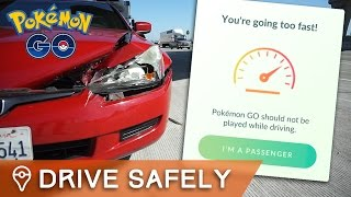 DO NOT PLAY POKÉMON GO WHILE DRIVING by Trainer Tips