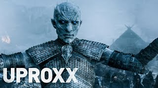 Who will defeat the Night King? We battle out some big questions ahead of tonight's premiere of Game of Thrones #winterishereMaude Garrett, Host/Writer/Producer and Creator of Geek BombSee more of her here:https://www.youtube.com/channel/UCSKFuxhXiJjF49nwQGZuROQDan Casey Senior Editor at NerdistFollow him on Twitter:  https://twitter.com/DanCasey-----------------------------------Click All The Links!-----------------------------------Watch It's Always Sunny In Philadelphia Fan Theory ►► https://www.youtube.com/watch?v=kuQDE_IHFhcWatch Assassin's Creed Fan Theory ►► https://www.youtube.com/watch?v=UhbvJRRgrWIWatch Rogue One Fan Theory ►► https://www.youtube.com/watch?v=PxY5CBaw78kWatch Westworld Fan Theory ►► https://www.youtube.com/watch?v=XTf7tKuCASoWatch Stranger Things Fan Theory ►► https://www.youtube.com/watch?v=7VlaDE2cMAEWatch Mr. Robot Fan Theory ►► https://www.youtube.com/watch?v=AdG4cG9n9XM&Subscribe to UPROXX for new videos each week ►► https://goo.gl/wWFK2DCheck Out Our Social: http://uproxx.comhttps://twitter.com/uproxxhttps://facebook.com/uproxxMore In Theory ►►https://www.youtube.com/watch?v=eMHSLNBFIBw&list=PLSKKhAQmpy_hK_MSTkb6qqcXWybJdpCsxUPROXX: The premier news and culture platform for the digital generation. News, sports, music, and entertainment with a connection you won't find anywhere else.Come back every week for your news and entertainment fix:UPROXX ReportsIn TheoryFandemoniumRachel DeMita On UPROXX