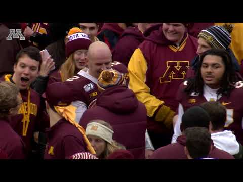 Gophers Upset #5 Penn State: Fans Rush the Field!