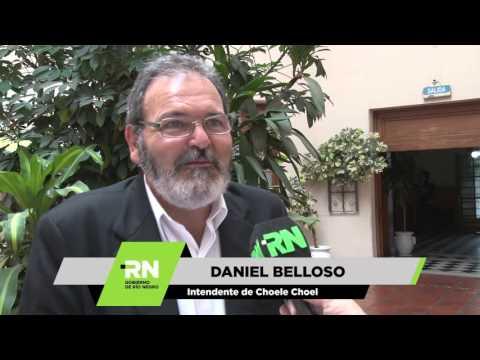Belloso - Reunion con el Gobernador Alberto Weretilneck