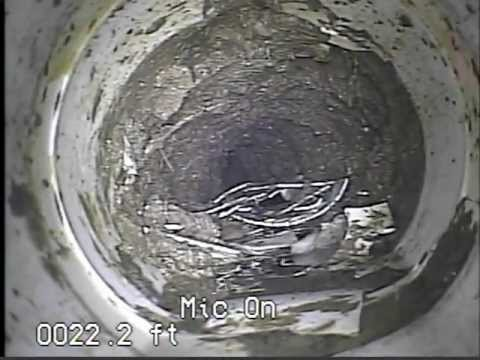 bknoppe - CRUSHED SEWER LATERAL PIPE.