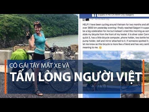 Cô gái Tây mất xe và tấm lòng người Việt | VTC1 - Thời lượng: 3 phút, 58 giây.