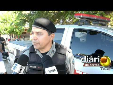 PM prende acusado de matar ex-mulher a tijoladas em Nazarezinho