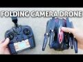 Folding FPV Camera Drone! Skytech TK110HW REVIEW