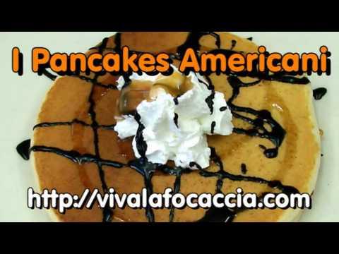 pancakes americani - ricetta