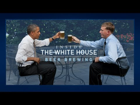 Inside the White House - Beer Brewing